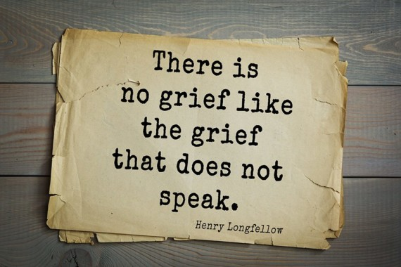 Let Your Grief Speak